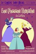 Affiche Les Femmes Savantes - La Comédie Saint-Michel