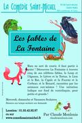 Affiche Les fables de La Fontaine - La Comédie Saint-Michel