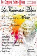 Affiche Les Fourberies de Molière - La Comédie Saint-Michel