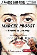 Affiche Marcel Proust - La Comédie Saint-Michel