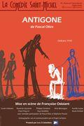 Affiche Antigone - La Comédie Saint-Michel